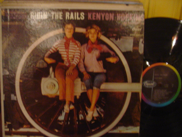 Kenyon Hopkins - Ridin' the Rails - Capitol 1960s Mono { Myers