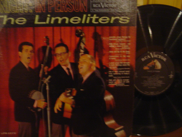 The Limeliters - Tonight in Person - RCA Mono 1961 { Myers