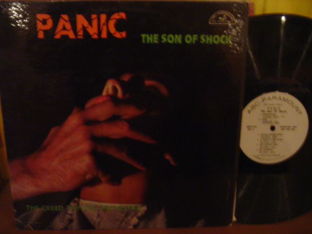 Creed Taylor - Panic Son of Shock - ABC Promo Demo Mono - Click Image to Close
