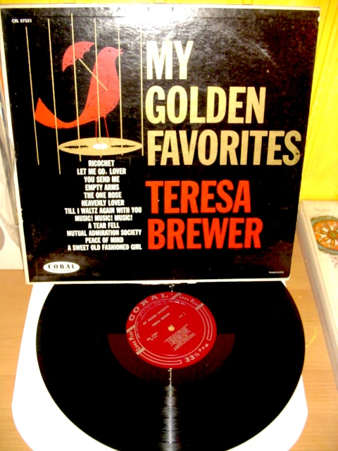 Teresa Brewer - My Golden Favorites - Coral 1960 Mono