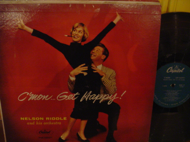 Nelson Riddle - C'mon get happy - Capitol Mono 1958 { Myers