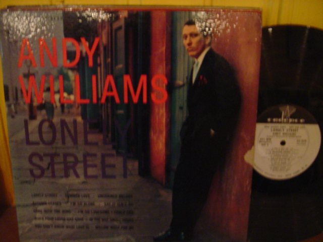 Andy Williams - Lonely Street - Cadence Mono Promo { Myers }