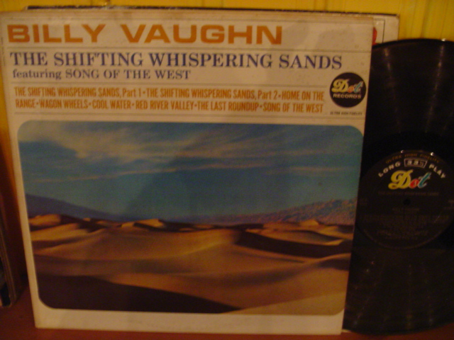 Billy Vaughn - Shifting Whispering Sands - Dot USA { Myers }