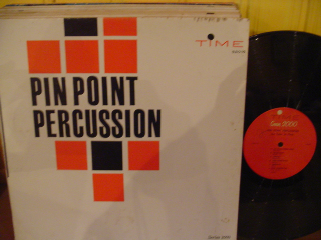 Jim Tyler - Pin Point Percussion - Time Records USA { Myers }