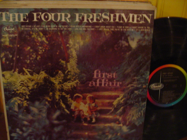 The Four Freshmen - First Affair - Capitol USA { Myers }