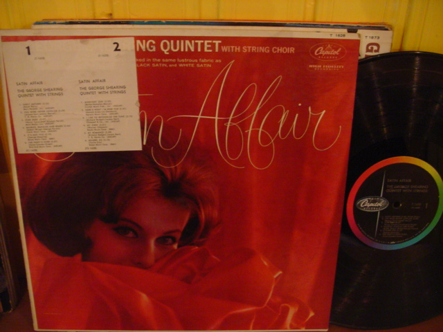 George Shearing - Satin Affair - Capitol Mono USA { Myers }