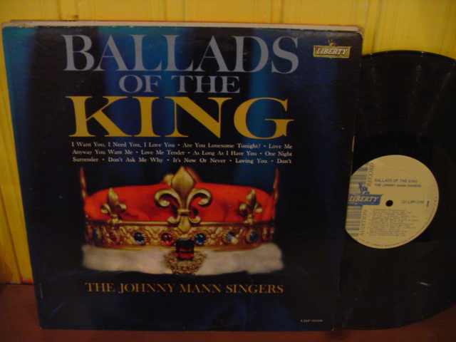 Johnny Mann Singers - Ballads of the King - Liberty Demo