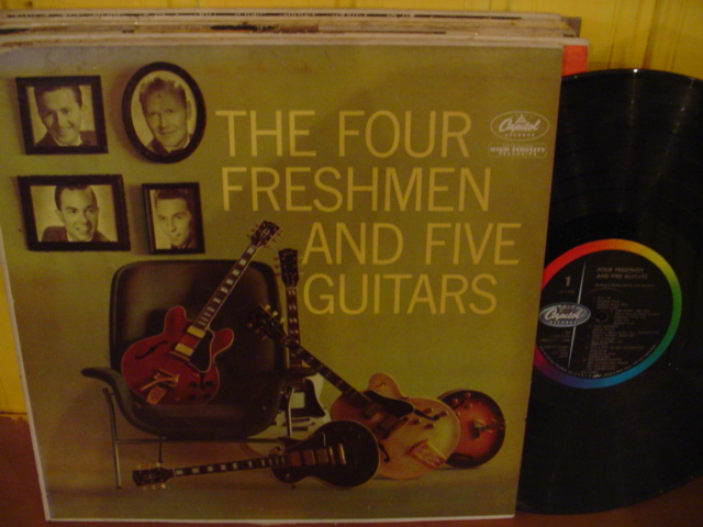 The Four Freshmen - And Five Guitars - Capitol USA { Myers