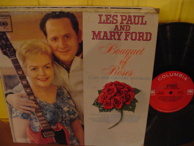 Les Paul & Mary Ford - Bouquet Roses - Columbia - USA { Myers