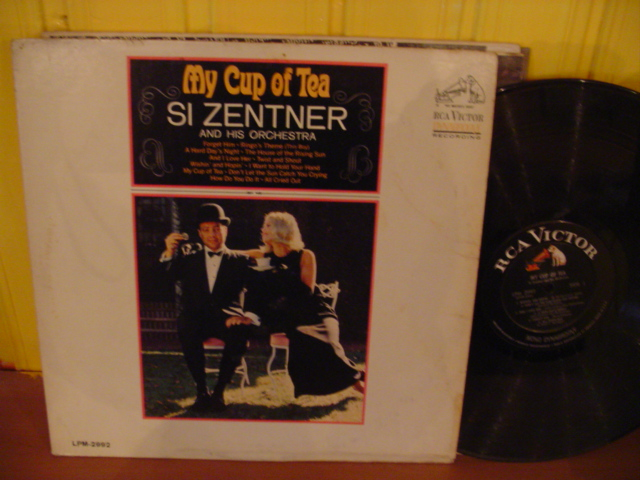 Si Zentner - My Cup of Tea - RCA Mono - USA { Myers }