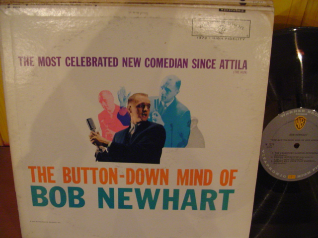 BOB NEWHART - BUTTON DOWN MIND - WARNER - PM 103