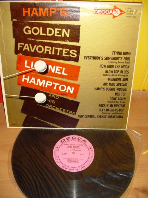 Lionel Hampton - Golden Favorites - Decca 1961 USA { Myers