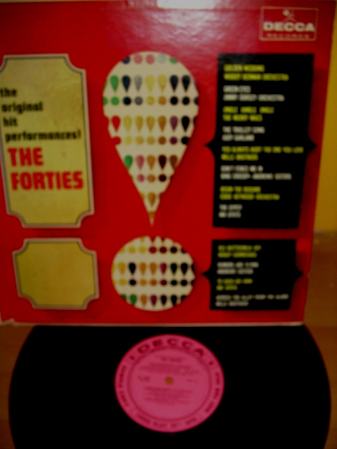 VARIOUS ARTISTS -HITS OF THE FORTIES - DECCA - PM 14