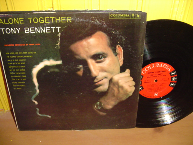 TONY BENNETT - ALONE TOGETHER - COLUMBIA Mono