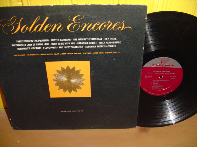 VARIOUS ARTISTS -GOLDEN ENCORES - CADENCE - PM 17