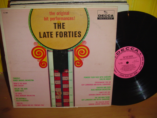 Various Artists - Hits of the Forties Late - Decca Demo Promo