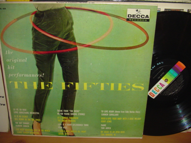 Various Artists - Hits of the Fifties - Decca 1960s USA { My