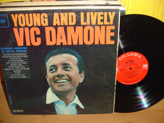 Vic Damone - Young & Lively - Columbia 1960s Mono Promo Demo