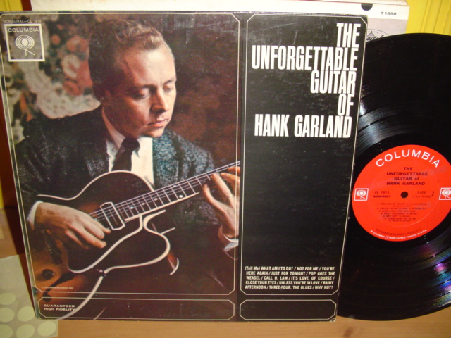 Hank Garland - Unforgettable Guitar - Columbia Mono Promo