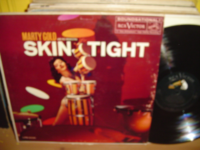 Marty Gold - Skin Tight - RCA Mono 1960 Cheesecake { Myers