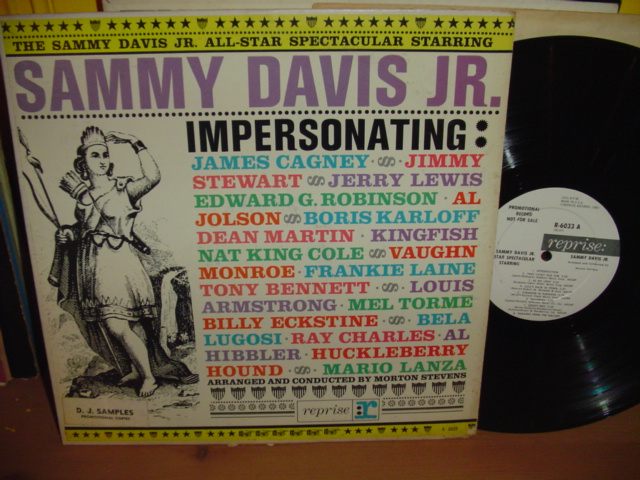Sammy Davis Jnr. - Impersonating - Reprise Demo Promo 1960s