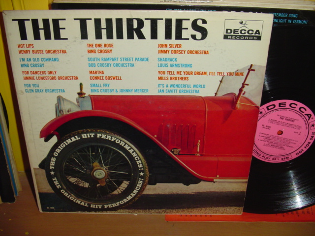 Various Artists - Hits of the Thirties - Decca Demo Promo