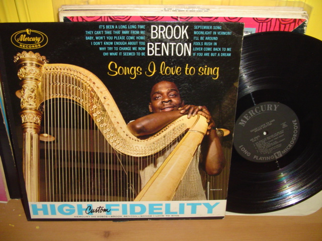 Brook Benton - Songs I love To Sing - Mercury Mono 1960s
