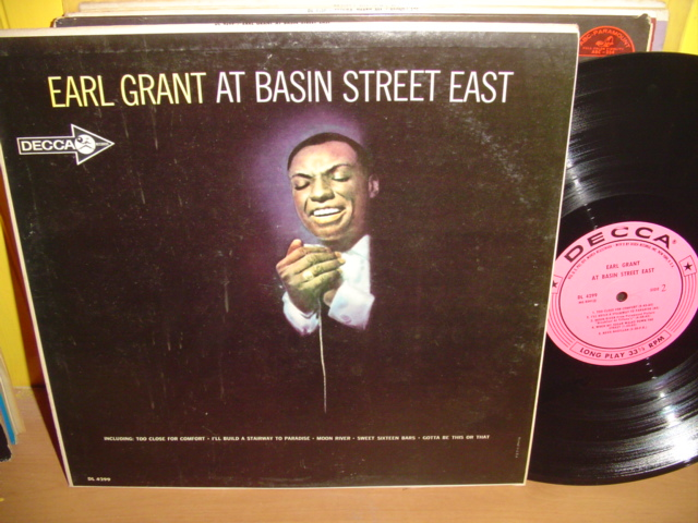 Earl Grant - At Basin Street - Decca Promo Demo 1960s USA {