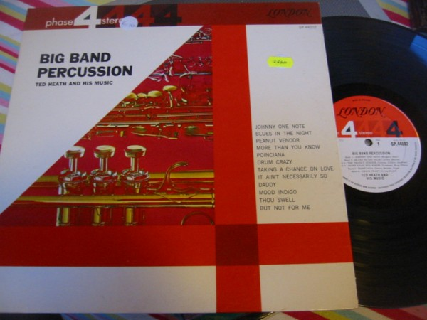 SP 44002 - TED HEATH - BIG BAND PERCUSSION R 2260