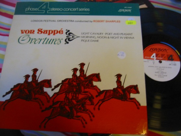 SPC 21069 - VON SUPPE OVERTURES - ROBERT SHARPLES R 2265