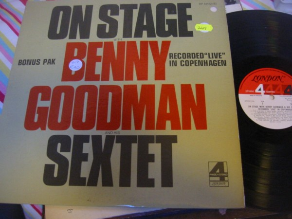 BP 44182 / 83 BENNY GOODMAN ON STAGE 2 LP R 2269