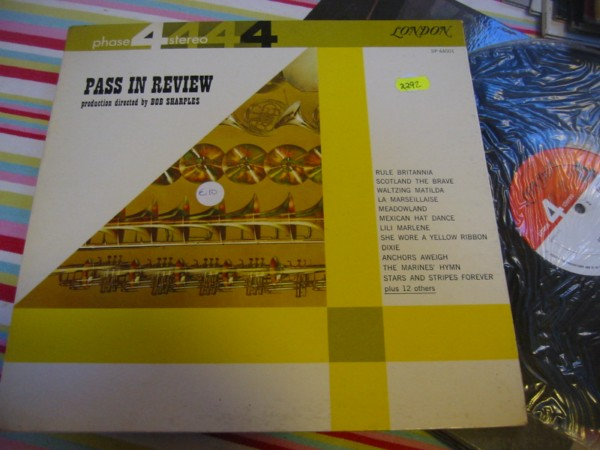 SP 44001 BOB SHARPLES - PASS IN REVIEW R 2292