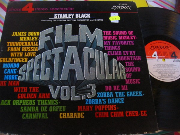 SP 44078 - STANLEY BLACK - FILM SPECTACULAR VOL 3 R 2251