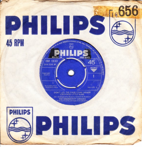 The Serendipity Singers - Dont let the rain come down - Philips