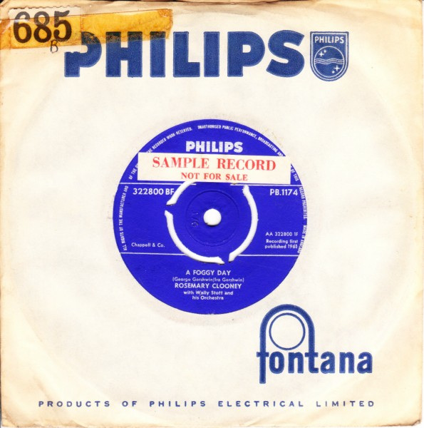 Rosemary Clooney - Love & Learn - Philips 3329