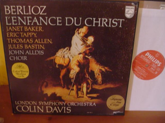 BERLIOZ - L'ENFANCE DU CHRIST - DAVIS - PHILIPS PH 16