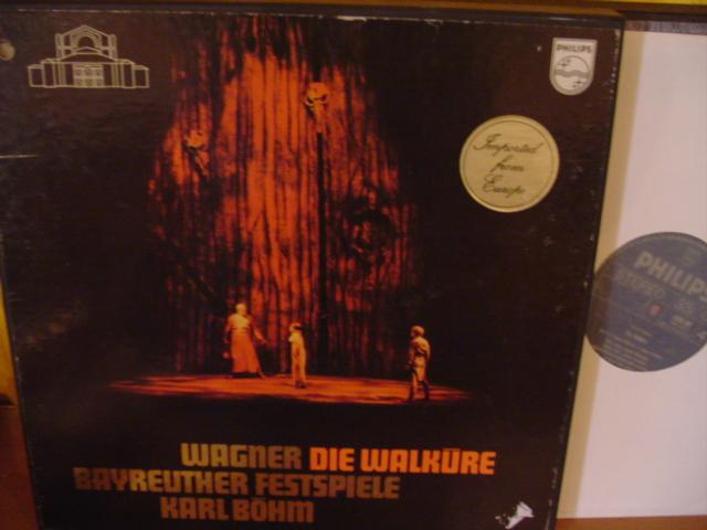 WAGNER - DIE WALKURE - BOHM - PHILIPS PH 10