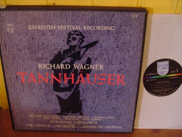 WAGNER - TANNHAUSER - SAWALLISCH - PHILIPS PH 9