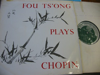 FOU TS'ONG Piano - Plays Chopin - WRC T48