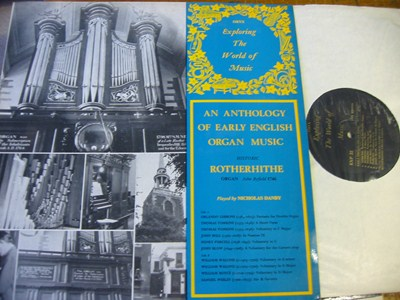 Nicholas Danby - Early English Organ Music - Oryx - Mint Minus