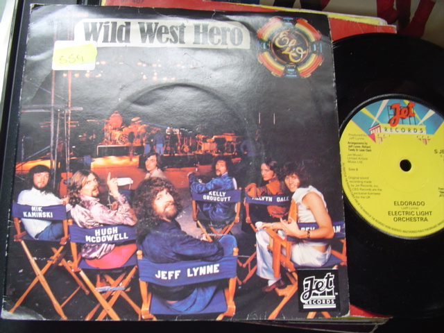 ELECTRIC LIGHT ORCHESTRA - WILD WEST HERO - JET