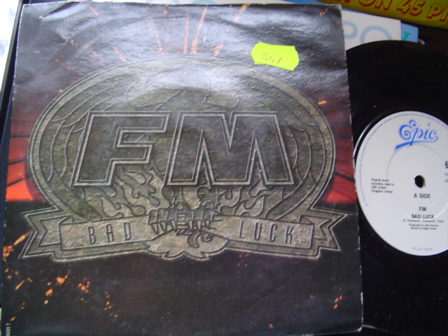 FM - BAD LUCK - EPIC 1989