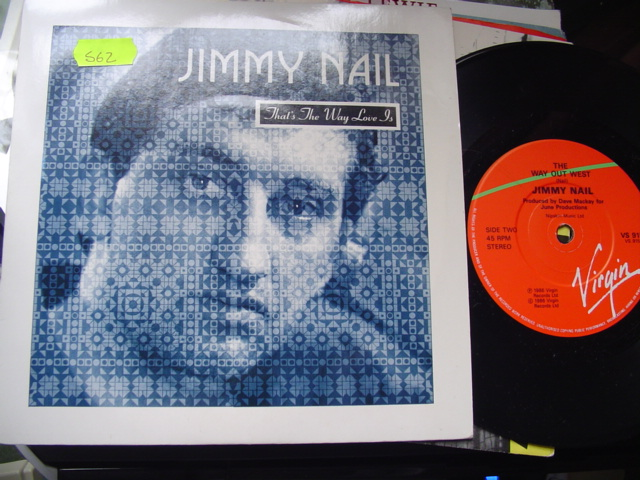 JIMMY NAIL - THATS THE WAY LOVE IS - VIRGIN