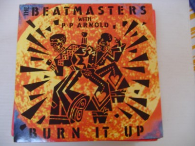THE BEATMASTERS - BURN IT UP - RHYTHM KING 1988