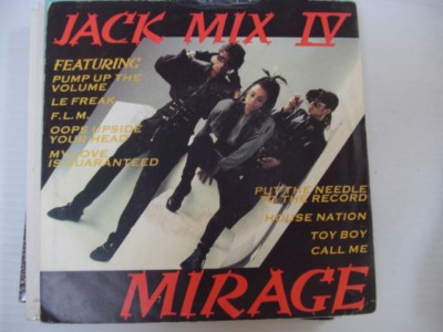 MIRAGE - JACK MIX IV - DEBUT 1986