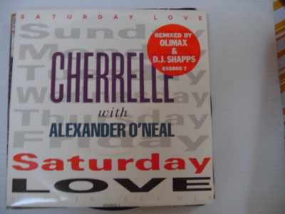 CHERRELLE & O'NEAL - SATURDAY LOVE - TABU 1990