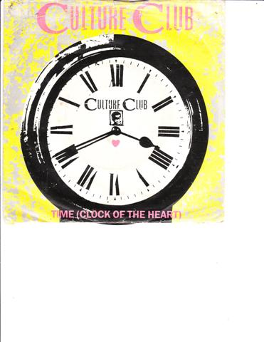 CULTURE CLUB - TIME { CLOCKE OF THE HEART }
