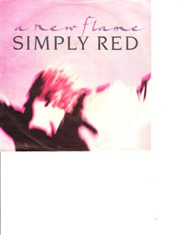 SIMPLY RED - A NEW FLAME - WEA RECORDS