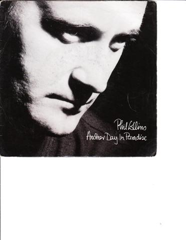 PHIL COLLINS - ANOTHER DAY IN PARADISE - VIRGIN