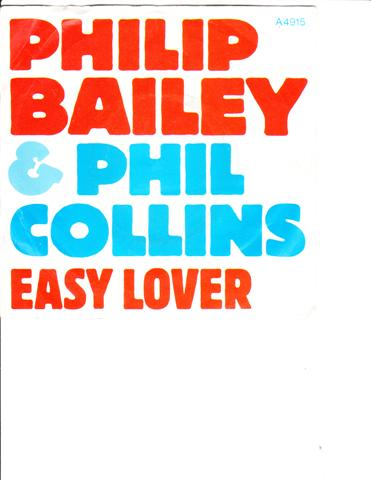 PHIL COLLINS - & PHILIP BAILEY - EASY LOVER - CBS